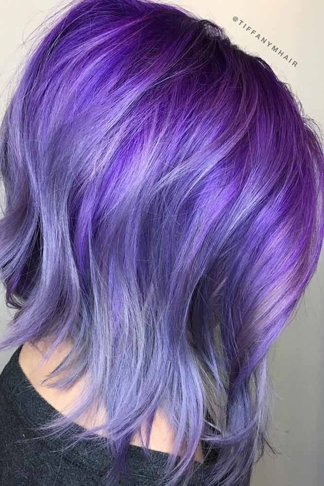 40 Charming Light Purple Hair Color Ideas Elegance Is ...