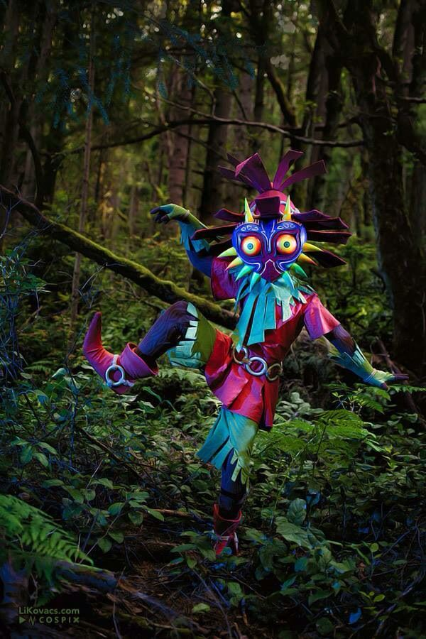 The Legend of Zelda Skull Kid Cosplay