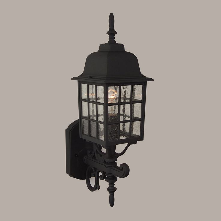 Craftmade Z274 0 Cast Aluminum Grid Cage Outdoor Sconce