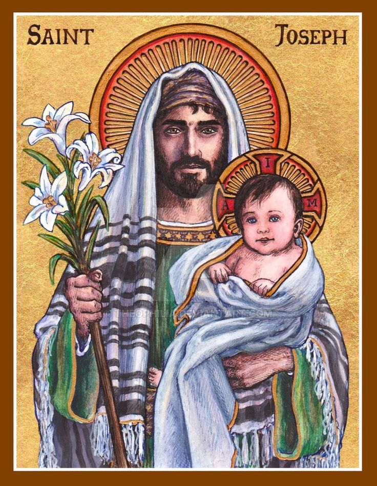 St. Joseph icon by Theophilia on DeviantArt