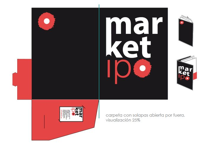 MIC Marketipo: Carpeta con solapas corporativa