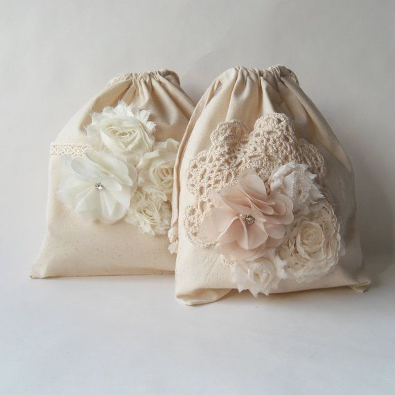 Dollar Dance Bag Ivory Brides Purse Money By Paperflora