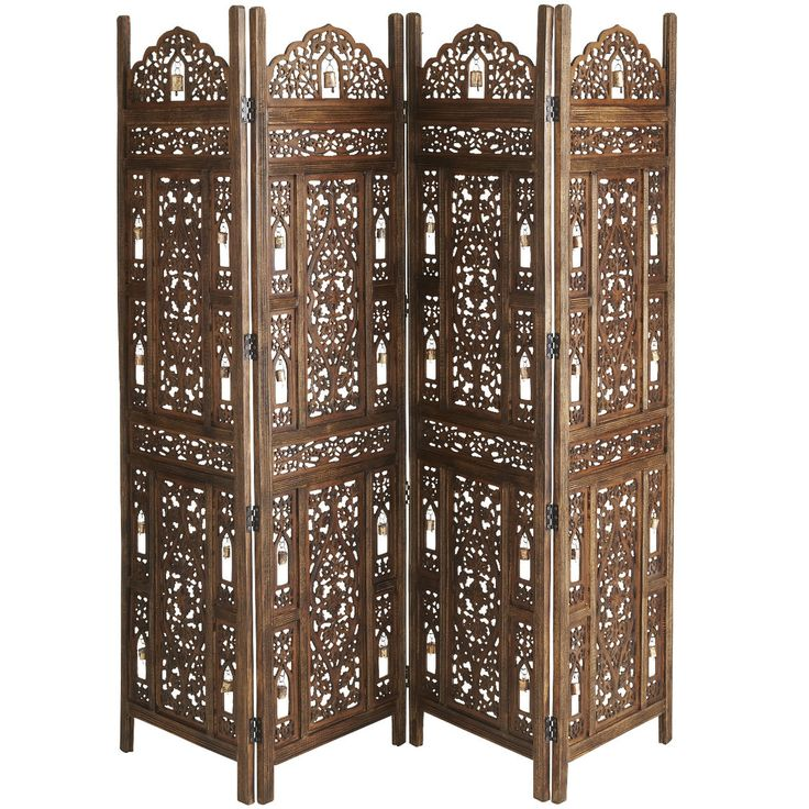 Ghanti room divider pier 1 imports folding screen for Screens and room dividers
