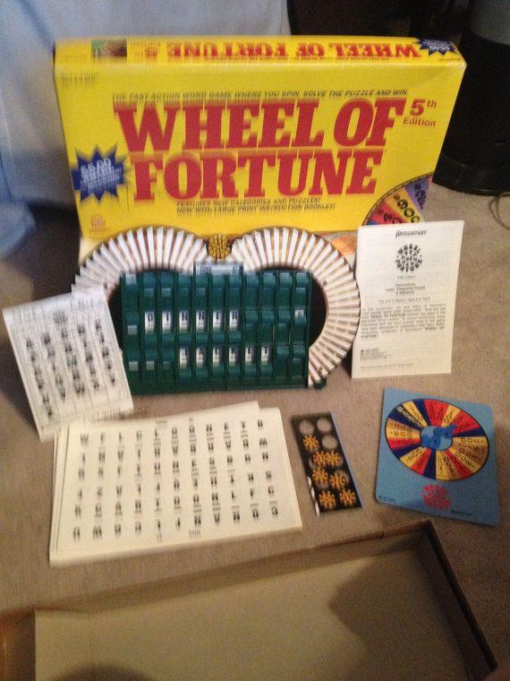 Wheel Of Fortune Board Game Digital
