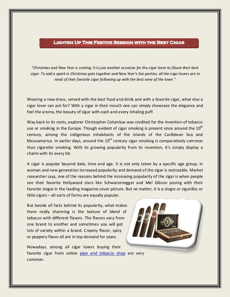 Read this document to know more about online pipe and tobacco shop...