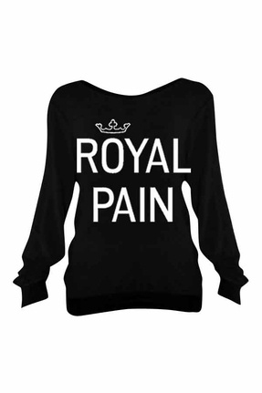 Wildfox Royal Pain Baggy Beach Jumper in Clean BlackPain Baggy, Fashion, Cleaning Black, Shirts Sweaters, Baggy Beach, Style, Wildfox Royal, Beach Jumpers, Royal Pain