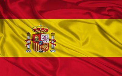 Bandera De España 150X90 Cm Adaptada Para Mastil Española Grande Spain Calidad • EUR 1,00