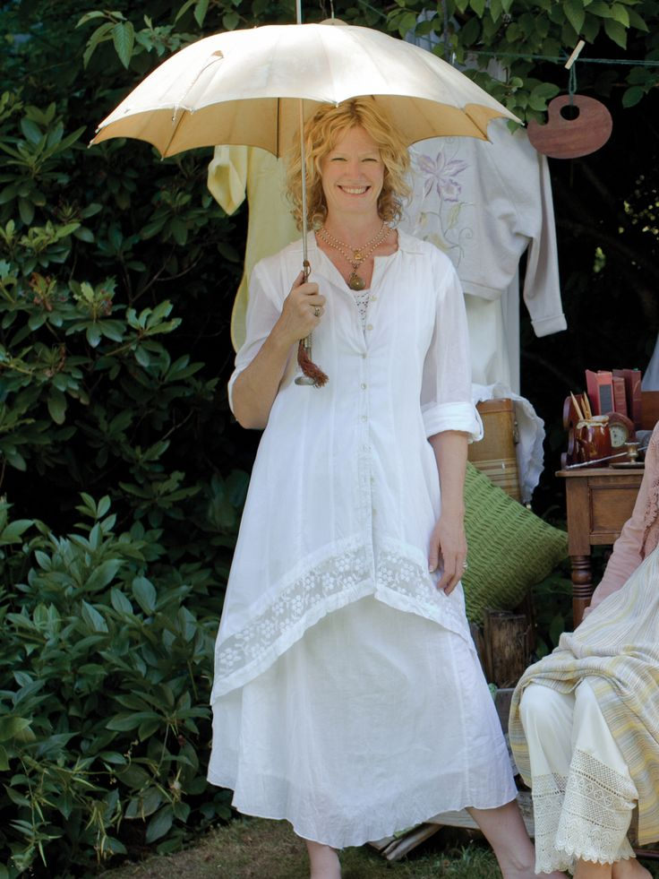 Dove Ladies Duster | Ladies, Jackets & Cover Ups :Beautiful Designs by April Cornell