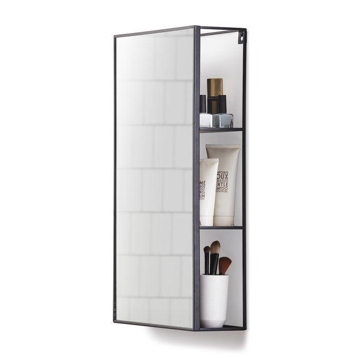 30 X 61 Cm Verspiegelter Schrank Cubiko Mit Bildern Badezimmer
