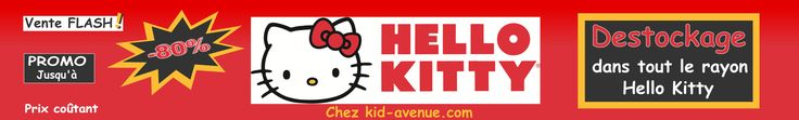 Destockage et promo dans tout le rayon Hello Kitty. Une aubaine pour préparer les cadeaux de Noël à petit prix ! #hellokitty #kitty #promo #bonplan #cadeau #pascher #enfant #peluche #serviette #cadre #idéecadeau #mug #vaisselle #coffret #figurine #naissance #sac #maroquinerie #bonnet #écharpe #gant #casquette #montre #parapluie #tirelire