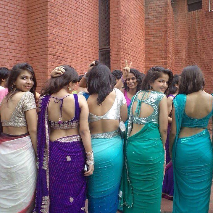 Wwwsareeseductioncom Saree Sari Backless Blouse  -6950