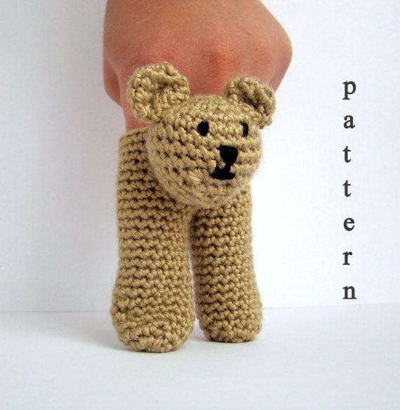 Two Finger Amigurumi Puppets Pattern crochet pattern amigurumi how to make…
