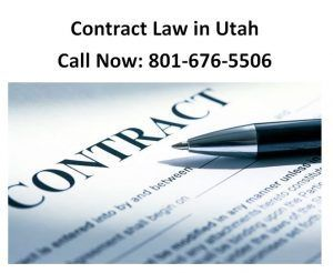 Contract Law in Utah