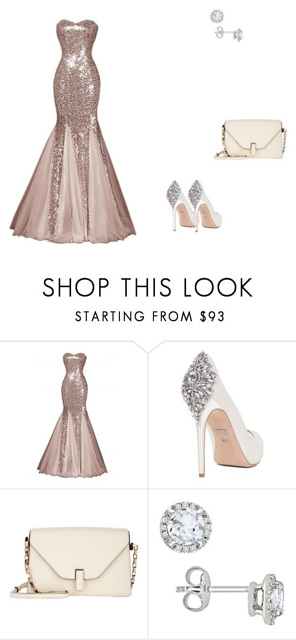 """wii"" by heddastoltnielsen on Polyvore featuring Badgley Mischka, Valextra and Amour"