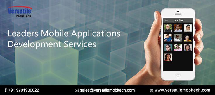 Versatile Mobitech Services: Best politicians mobile applications development s...