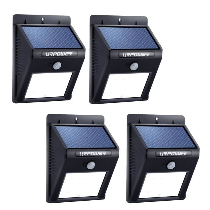 URPOWER Solar Lights 8 LED Wireless Waterproof Motion Sensor Outdoor Light for Patio, Deck, Yard, Garden with Motion Activated Auto On/Off (4-Pack) only $36.99 from https://www.amazon.com/gp/product/B012ZPKNFE/ref=as_li_ss_tl?pf_rd_m=ATVPDKIKX0DER&pf_rd_s=merchandised-search-4&pf_rd_r=TCKXHZY6A7117CHKHEXV&pf_rd_t=101&pf_rd_p=e8b2dbe3-4894-5132-8283-8e49c29a5c83&pf_rd_i=495224&linkCode=ll1&tag=pinhome-20&linkId=eb8abf4989c5e6115db4ee9368d52cfe