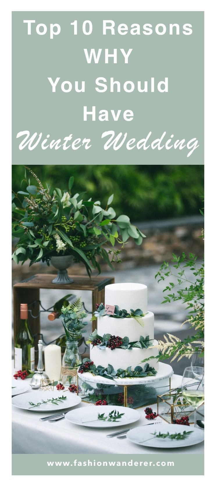 These are BEST rustic winter wedding ideas I ever seen! From inspiration on wedding dress, bridesmaids, cakes, flowers, photography and centerpiece to honeymoon on a budget! Pin worthy!  #weddingideas #WinterWeddings #weddingdresses #WeddingDIY #budgetdecor