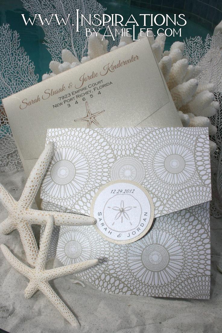 77 best beach wedding invitation images on Pinterest | Beach ...