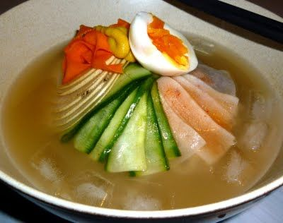 Naengmyeon 냉면 Korean Cold Noodles