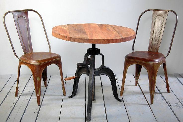 Hyatt - Fulton Industrial Height Adjustable Crank Table