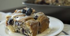 Blueberry Buttermilk Breakfast Cake-Use 8x8 pan (recipe calls for wrong size)