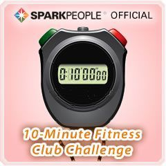 Official 10-Minute Daily Exercise Streak Challenge SparkTeam via @SparkPeople