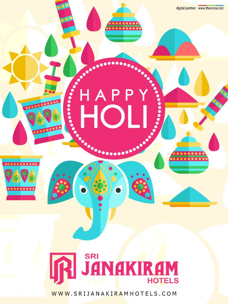 A day full of Colors! A day full of excitement! A day full of wishes! yeah it's Holi! A day to rejoice love! Srijanakiram Hotels wishes you a Happy Holi!   ‪#srijanakiram‬ #wishes‬ #Holi‬ ‪#colors‬