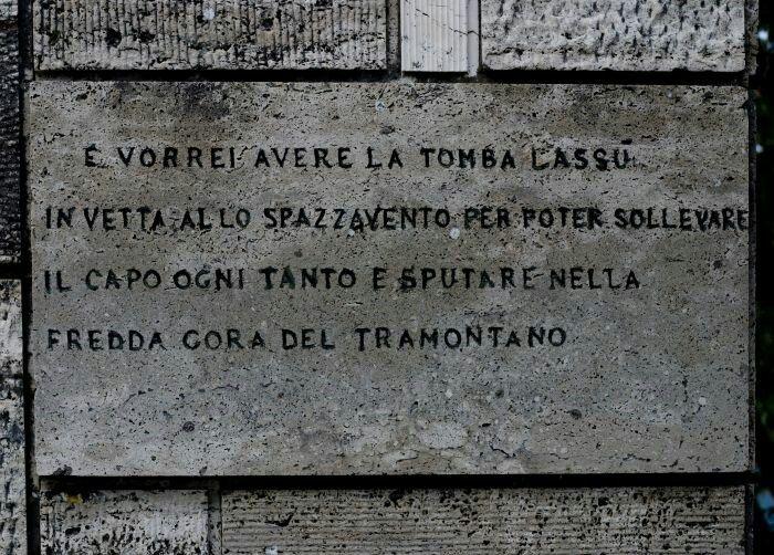 Mausoleo di Curzio Malaparte a Spazzavento