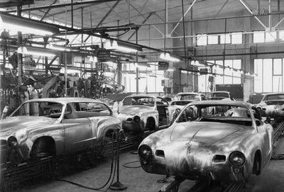 Another Rare Picture Of The Quot Fertigungsstra 223 E Quot Production