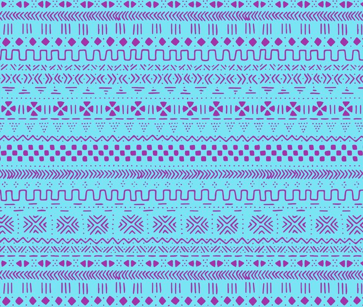 Cool Great Mudcloth Traditional Geometric Aztec Fabric Printed by Spoonflower BTY  2017-2018
