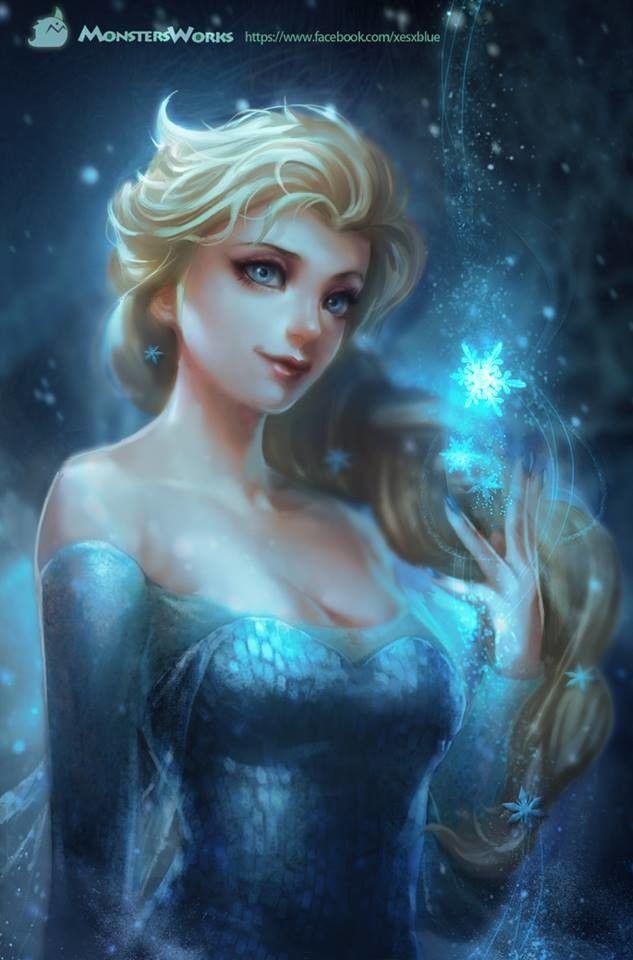 арт девушка,красивые картинки,Elsa Frozen,Frozen (фильм),фильмы