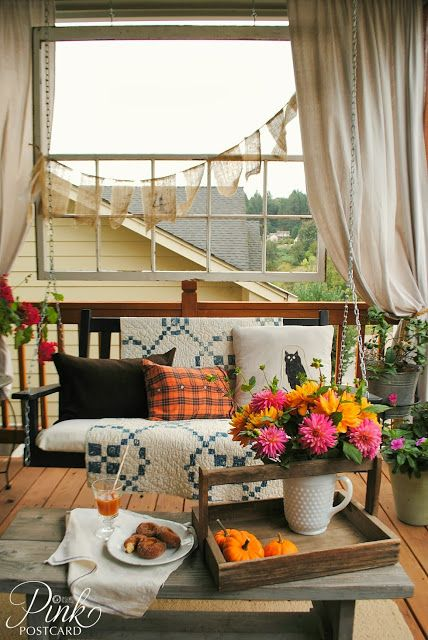 I've Got The Monday Blues with Fall Porches