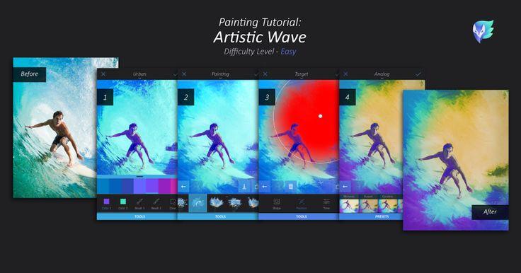 Artistic Wave Tutorial   Enlight Leak
