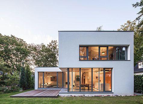 Minimal modernes Haus