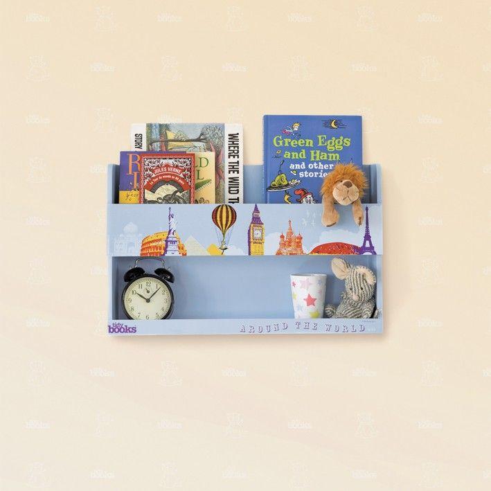 Perché non fare un Giro per il Mondo con il Tidy Books Bunk Bed Buddy? - Mensole e Scaffali in Legno per Letti a Castello  #mensole #viaggiare #libri- Il comodino pensile in edizione speciale sul sito di Tidy Books http://www.tidy-books.it/catalog/product/view/id/20/s/scaffali-mensole-letti-a-castello/category/93/?colour=Edizione+Speciale