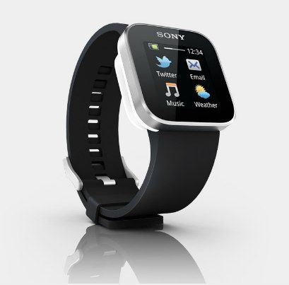 Sony's SmartWatch works with Android smartphones.