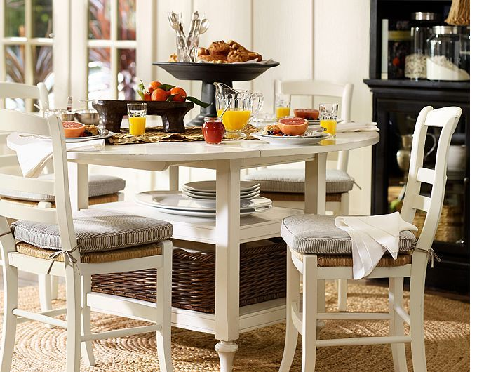 Breakfast table  potterybarn. 41 best Home Dining counter bar height images on Pinterest