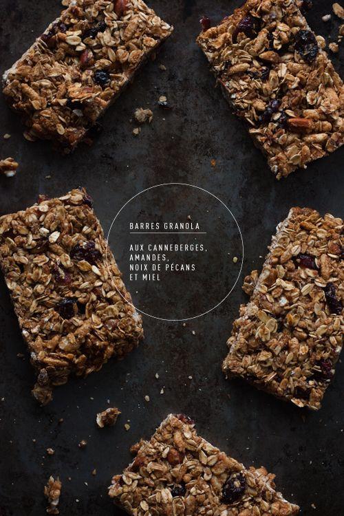 Recette des barres granola facile   Christelle is Flabbergasting