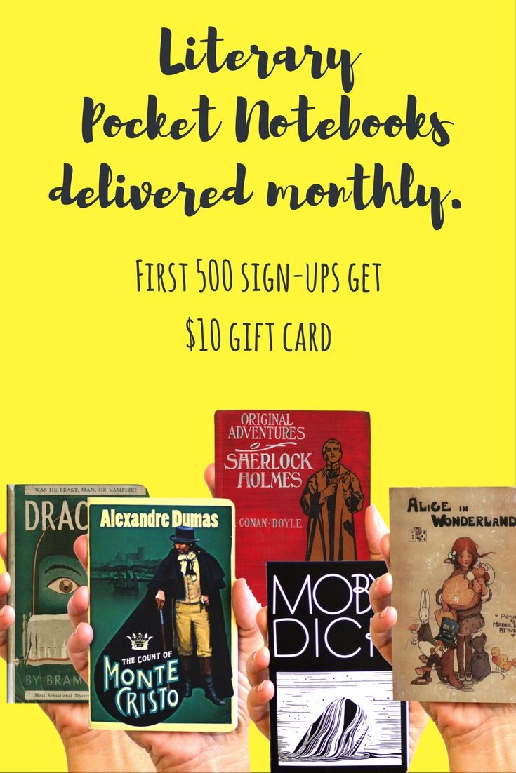 Get A $10 Gift Card For Signing Up! The Most Beautiful Bookinspired  Journals