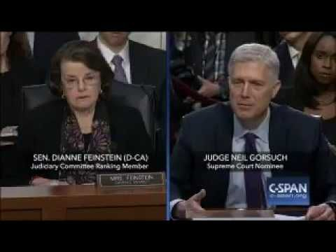 Pro-abort senator grills Gorsuch: Is Roe v Wade 'super precedent'?   News   LifeSite