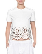 Lover Catherine Leather Bodice  #davidjones #lover #leather #luxe #bodice #white #chic #edgy #classic