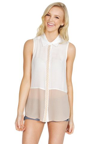 Relaxed Weekend Top – Dainty Deeds