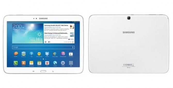 Samsung Galaxy Tab 3 10.1 3G detailed specifications