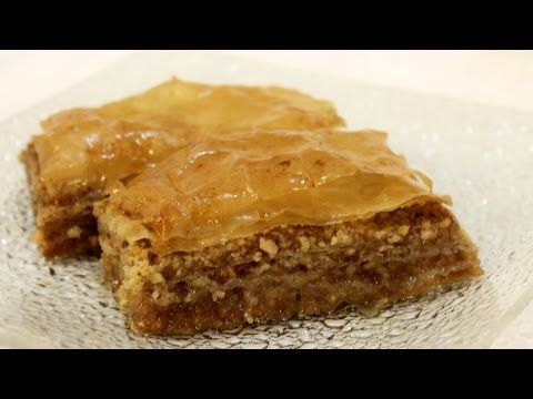 Baklava recept - Baklava recipe - YouTube