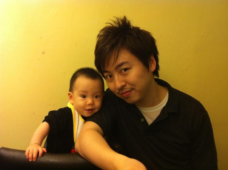 Like father like son <3