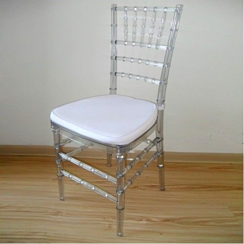 TIFFANY CHAIR RESIN / CLEAR