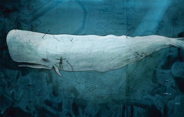 Abe Sapien by Yiannis Stilos, via Behance