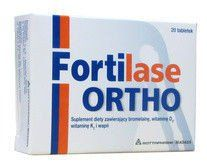 FORTILASE ORTHO x 20 tablets, bromelaine