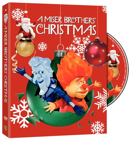 A Miser Brothers Christmas DVD