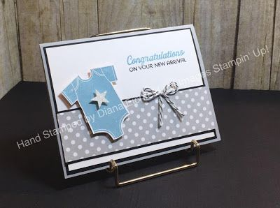SSINKspiration, Something for Baby, Better Together, Baby card, Big Shot, Framelits, Stampin' Up, Stampin' Fun with Diana, Diana Eichfeld
